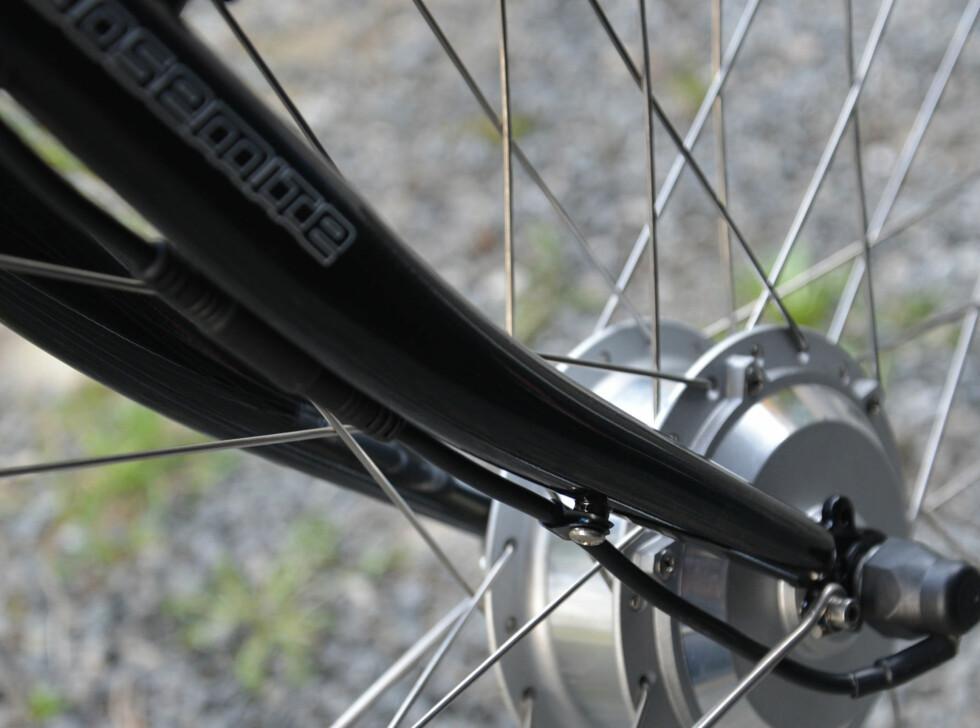 Strømkabel til motor Foto: BRYNJULF BLIX