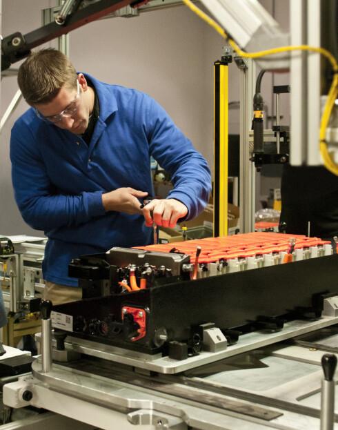 DAGENS: Her undersøkes et lithium-ionbatteri. JCES håper imidlertid innen kort tid å kunne lansere en helt ny batteriteknologi. Foto: JCESR
