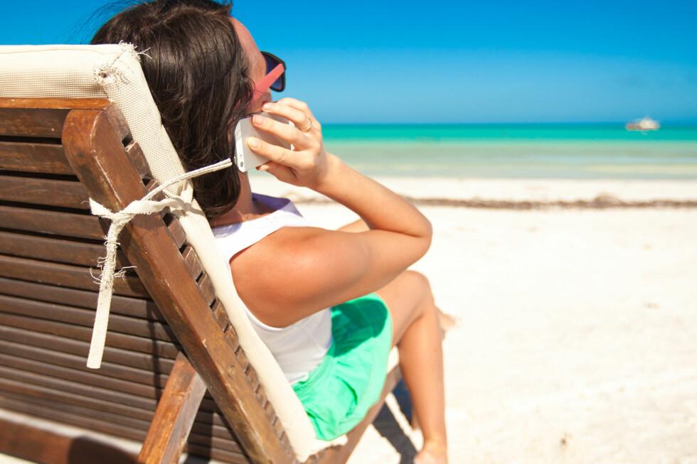FERIEKLAR? Selv om du skulle du ha behov for å få feriepenger utbetalt allerede i mai, må de fleste pent vente til juni. Foto: COLOURBOX.COM