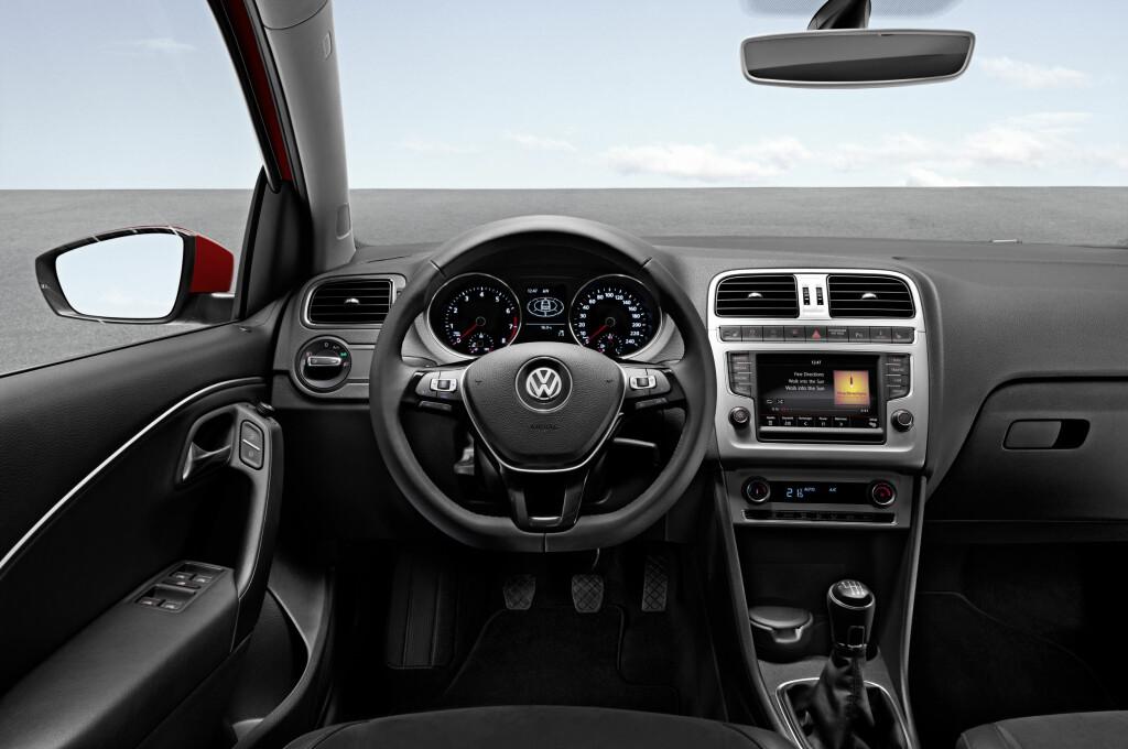 RYDDIG: På tysk maner er alt ryddig og oversiktlig. Foto: VW