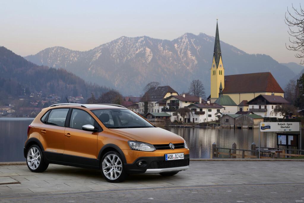 TØFFERE: For den som vil ha en litt barskere Polo, er CrossPolo det riktige alternativet.  Foto: VW