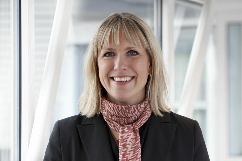 Kommunikasjonsdirektør Anne-Berit Herstad i Lånekassen har gode nyheter til studielånskunder med flytende rente.                                                          Foto: Lånekassen
