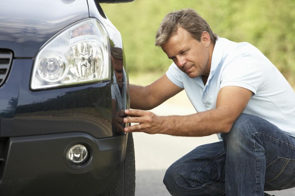 <b>DEKKMERKING:</b> Kjører du lite, kan dekkene se bra ut, selv om de strengt tatt er utgått på dato.  Foto: COLOURBOX