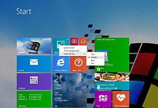 Last ned fullversjon av Windows 8.1 Update
