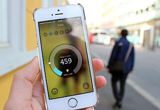Breeze gjør mobilen til skritteller