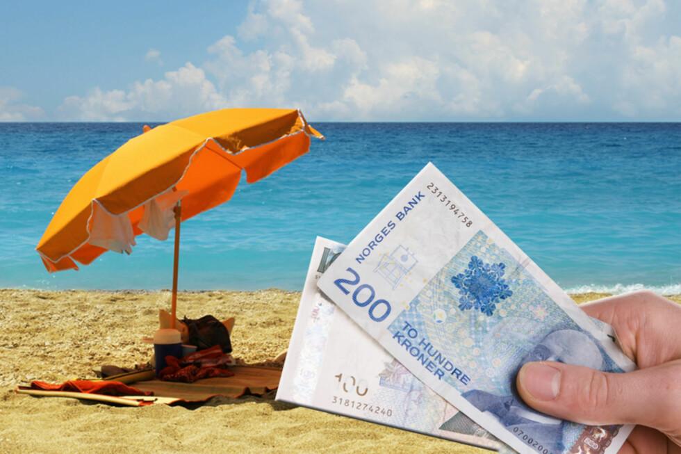 <b>FERIE?</b> Ferieloven gir deg rett til ferie, men hvor mye feriepenger du får utbetalt, avhenger av lønna di i fjor. Foto: COLOURBOX
