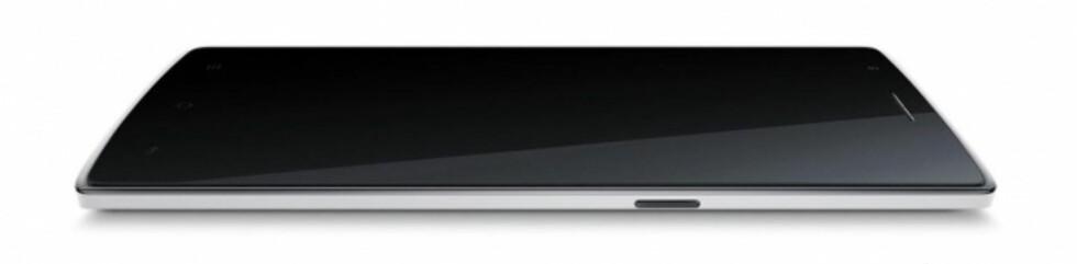 RØPER IKKE SÅ MYE: Dette bildet skal være et lekket bilde av OnePlus One. Foto: ONEPLUS