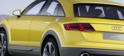 Audi TT i offroad-versjon