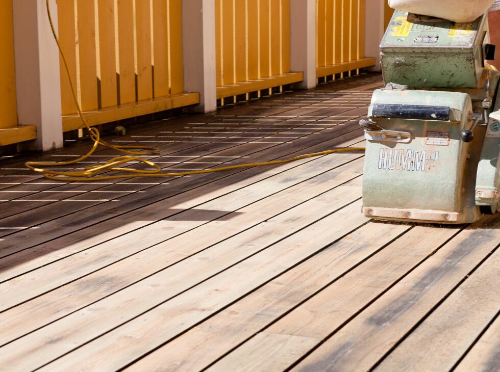 Slip med bordenes retning, ikke på tvers. Foto: Kristian Owren/Ifi.no
