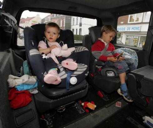 EKSTRAKJØRING? Omvei til barnehagen gir deg rett på ekstra fradrag. Foto: COLOURBOX