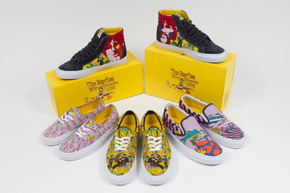 SOMMERLIG: Kanskje en Beatles-sko kunne være noe til sesongen? Foto: VANS