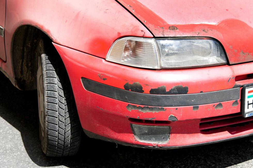 BOMKJØP? At bruktbilen du kjøpte ga deg mange ekstrautgifter, er ikke noe du kan be om fradrag for på selvangivelsen. Foto: COLOURBOX.COM