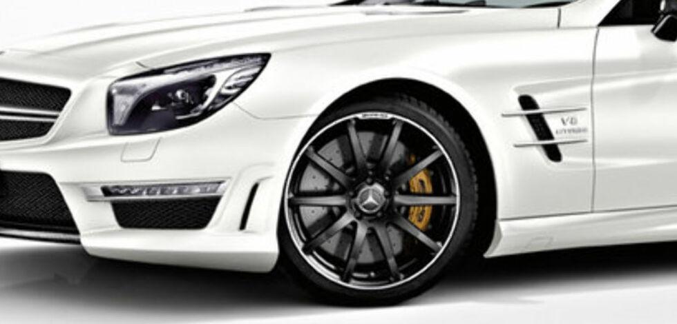 image: Mercedes-Benz spriter opp SL