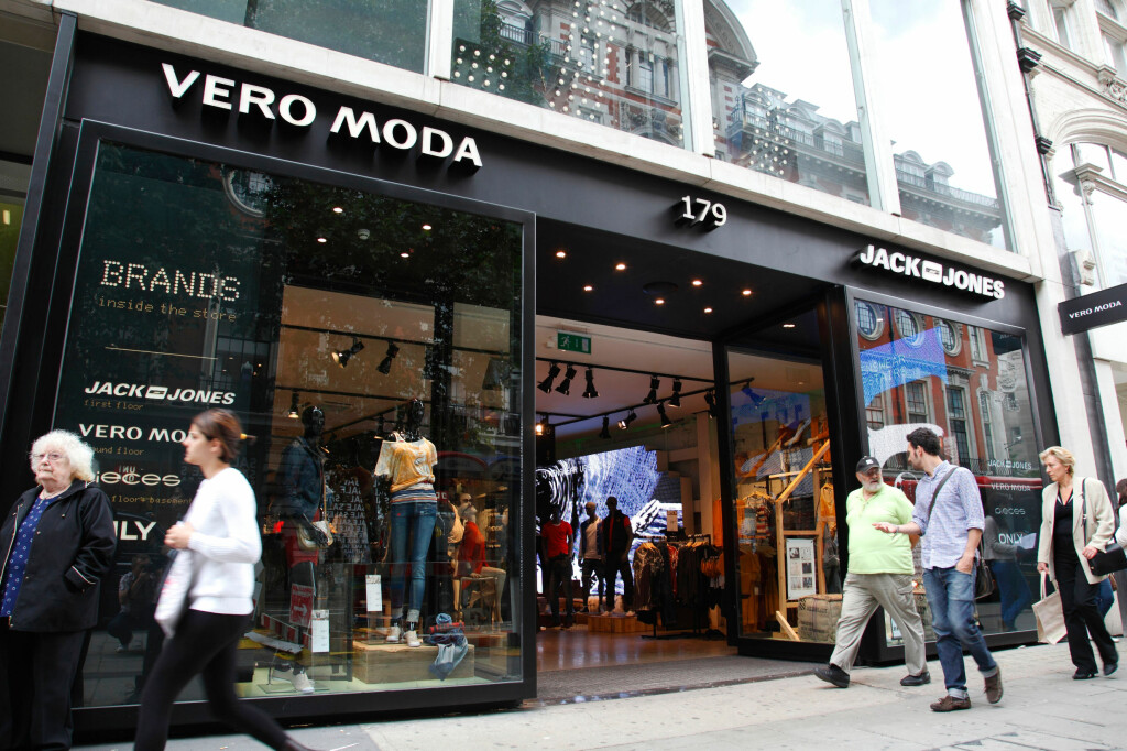 """<B>OPPLYSER IKKE:</B> Vero Moda/Jack&Jones opplyser ikke hvilke fabrikker de benytter i sin klesproduksjon av """"konkurransemessige årsaker"""".  Foto: ALL OVER PRESS"""