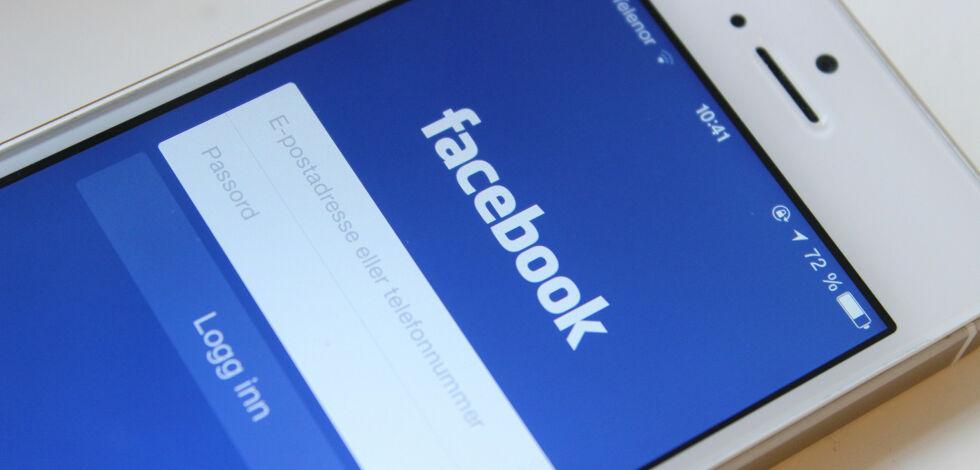 image: Facebook tømmer iPhone-batteriet