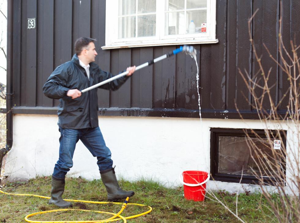 Start nederst på treverket og arbeid deg oppover. Foto: Kristian Owren / Ifi.no