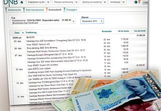 Bankene tar betalt for kontoutskrifter