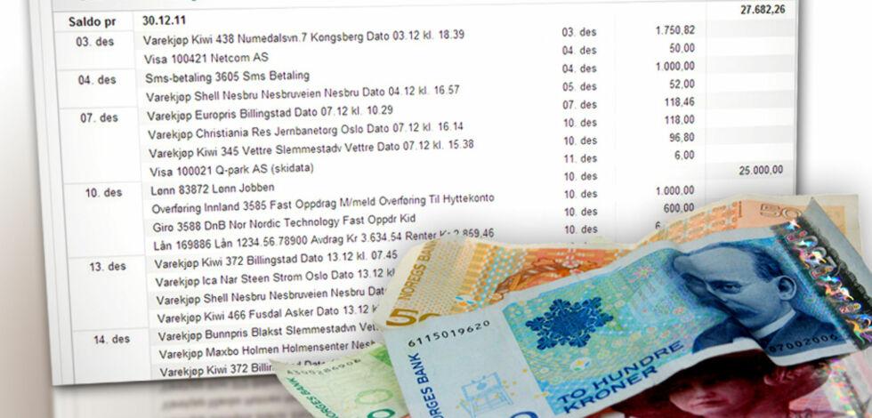 image: Bankene tar betalt for kontoutskrifter