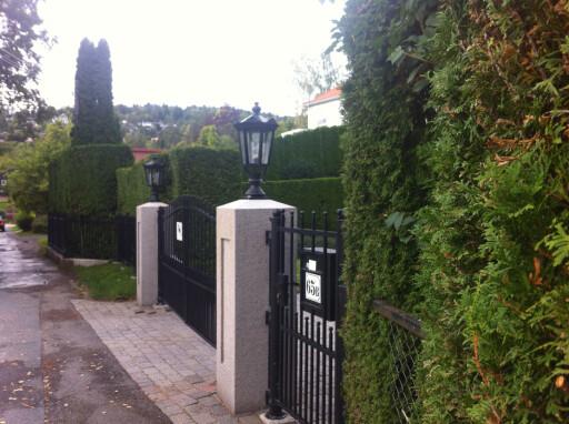 FIRKANTET: Ikke alle har like striglete hekker, men hekken må være til nevneverdig sjenanse for at den kan kreves klippet eller fjernet.  Foto: KAROLINE BRUBÆK