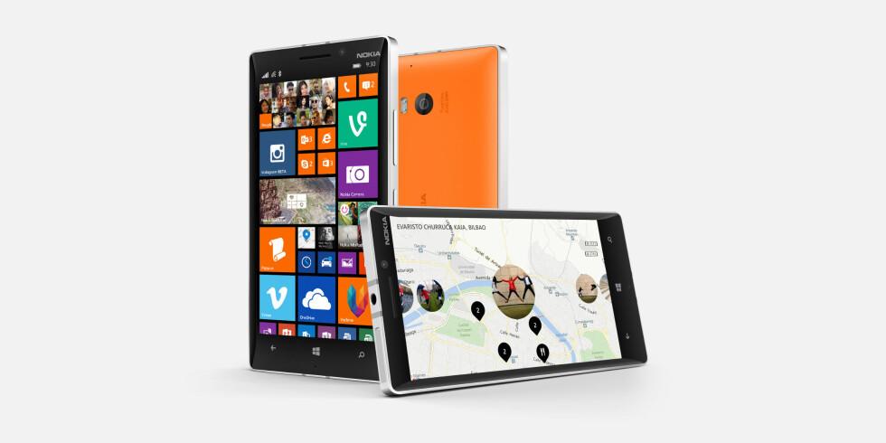 Lumia 930 blir Nokias nye toppmodell med Windows Phone 8.1 rett ut av boksen.