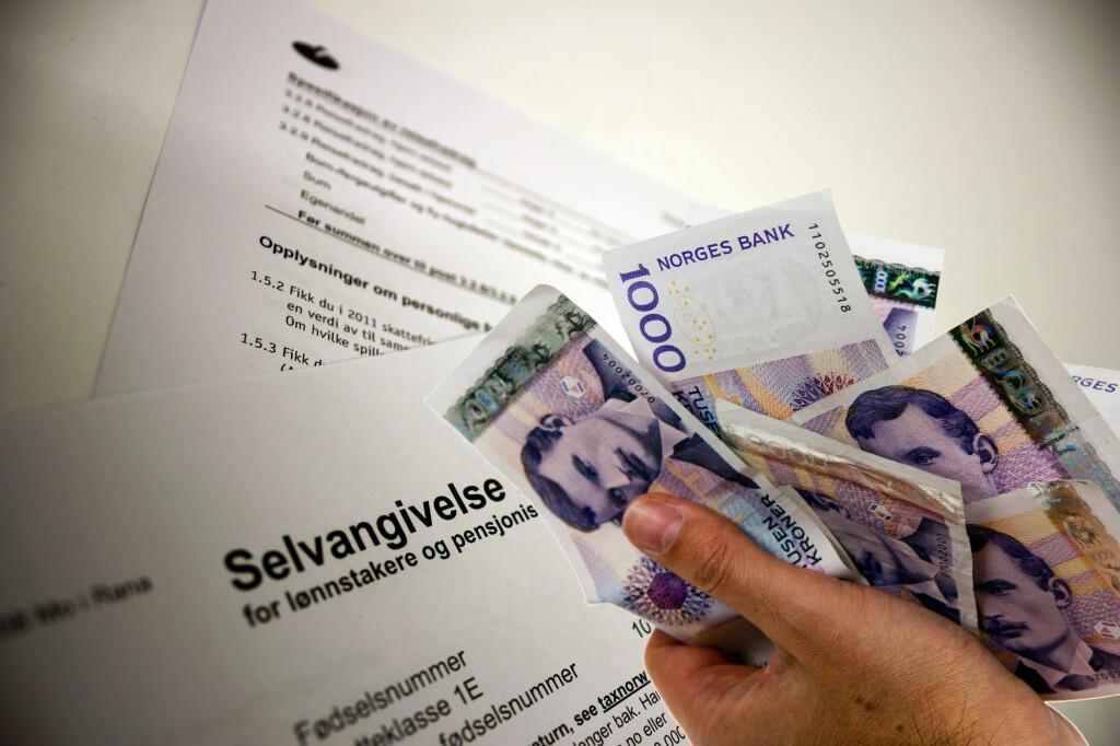 <b>NERVØS?</B> I dag faller dommen for 3,7 millioner nordmenn. Foto: PER ERVLAND / BERIT B. NJARGA