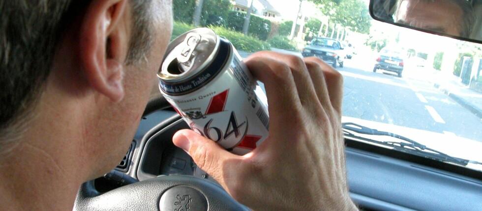 <strong><b>FYLLEKJØRING:</strong></b> Nå skal det ikke lenger bare fokuseres på alkoholen, men også medikamenter, varsler Finans Norge.   Foto: Colorbox