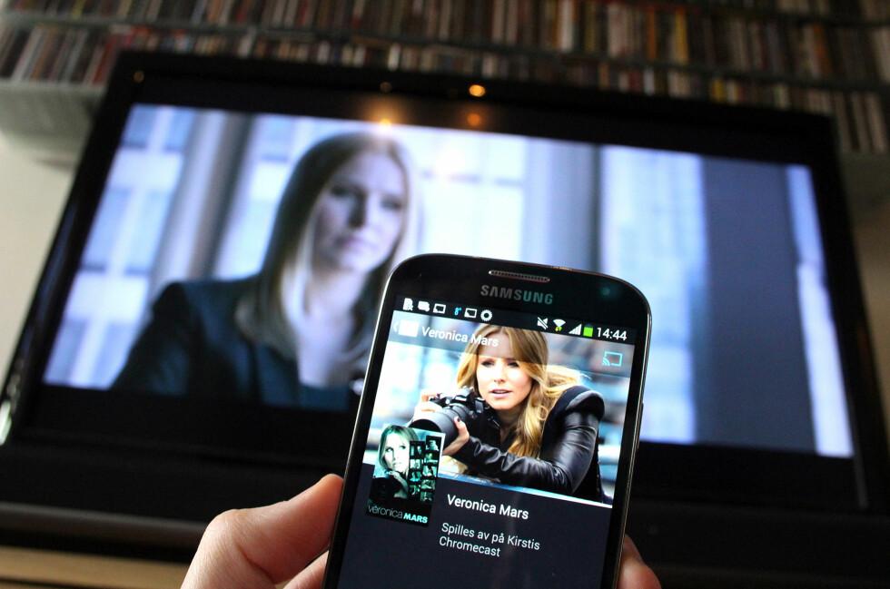 PASS OPP, APPLE TV: Nå begynner Googles mediespiller å bli moden.  Foto: KIRSTI ØSTVANG
