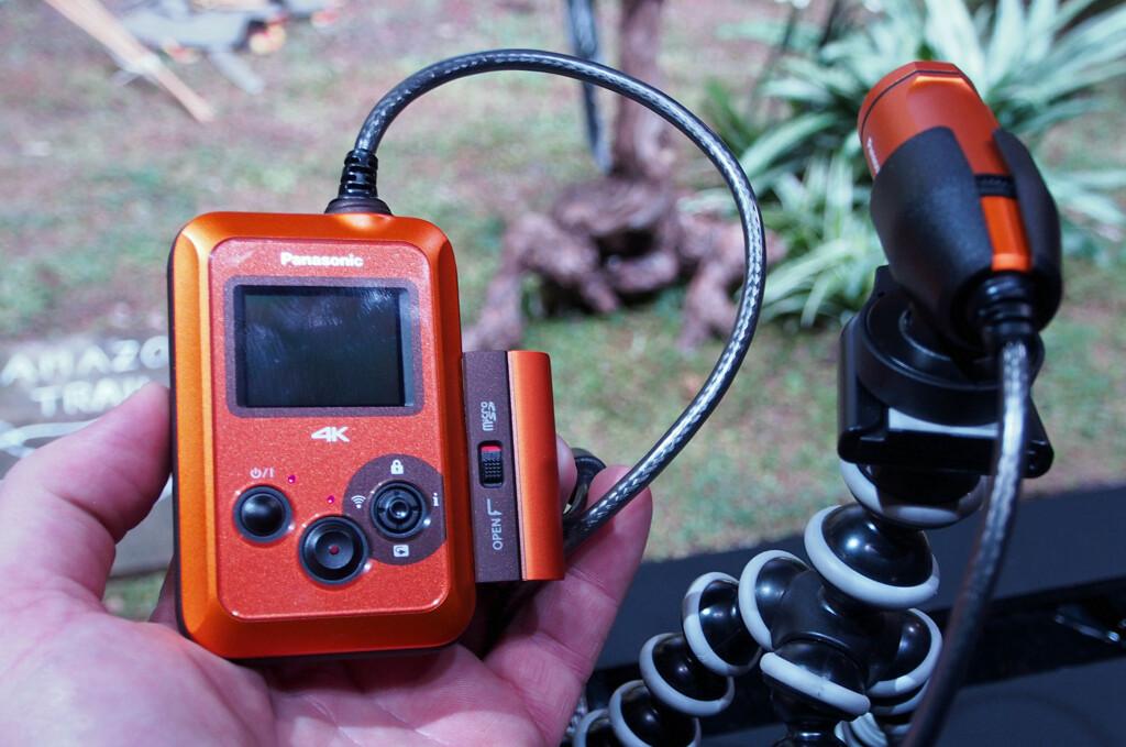 <b>ACTION I 4K:</b> Panasonic HX-A500 skal gjøre fete filmklipp i tøffe omgivelser enkelt. Foto: ØYVIND PAULSEN