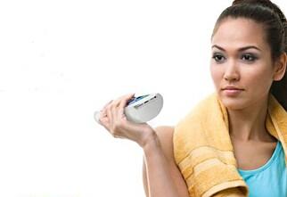 Mobilholder som skal gi muskler