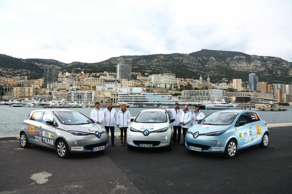 RALLY-SEIER: Renault Zoë vant Rally Monte-Carlo for nullutslippsbiler tidligere i år. Foto: RENAULT