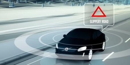 Volvo med interaktivt varslingssystem