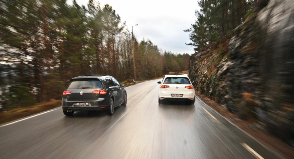 ET SPØRSMÅL OM KARAKTER: Det er måten bilene uttrykker seg på som utgjør forskjellen mellom den gode og den enda litt bedre. Foto: KAJ ALVER