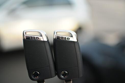TEMMELIG LIKE: Men bilene er mer forskjellige enn nøklene. Foto: KAJ ALVER