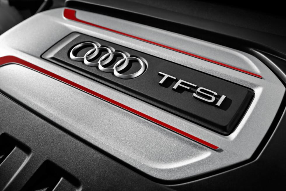 KRAFTIG: 231 hk og et blandet forbruk på 0,7 l/mil, er en fin kombinasjon. Foto: Audi