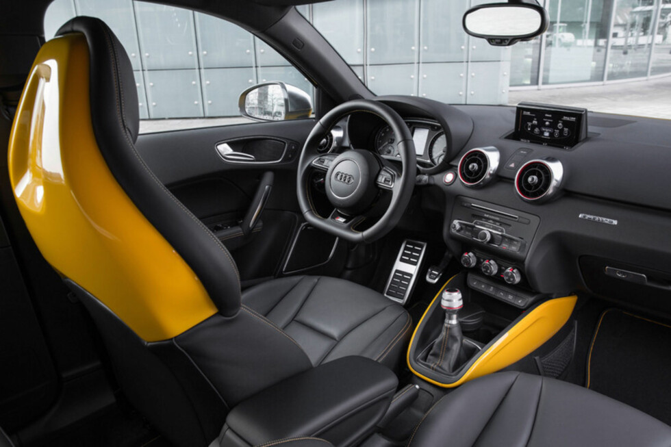 KONTRASTER: Som ekstrautstyr kan man bestille kontrasterende farger i interiøret.  Foto: Audi
