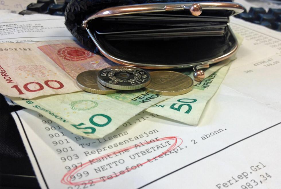 MER LØNN? SSB tror på 3,8 prosent lønnsvekst i 2014, men ikke alle er enige i disse anslagene. Foto: BERIT B. NJARGA