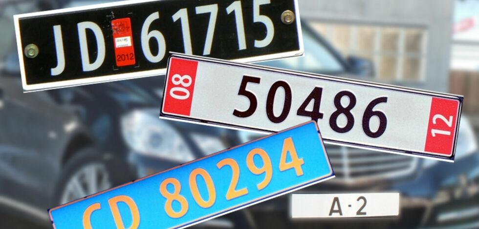 image: Kjenner du igjen bilskiltene?
