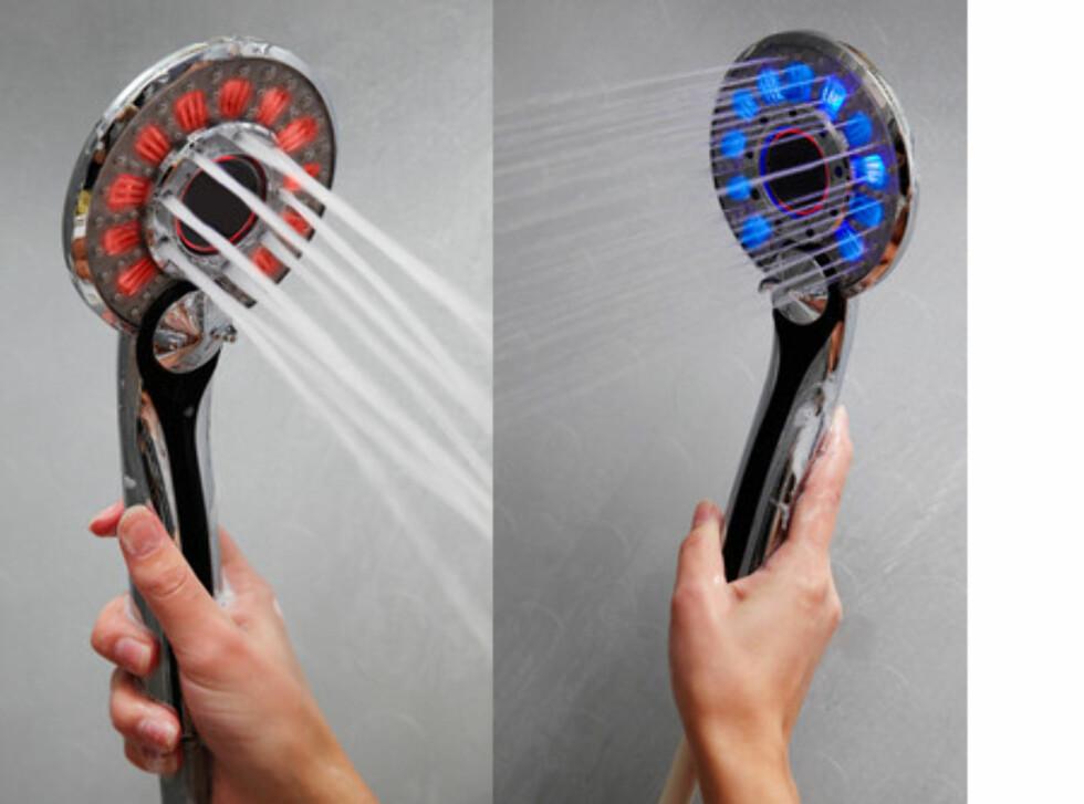 LED dusjhode fra Coolstuff.no til 85 kr. Foto: COOLSTUFF.NO