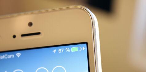 image: Nye batteriproblemer i iOS 7.1