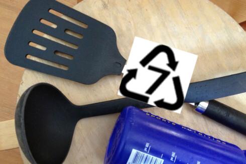 Du bør styre unna kjøkkenredskap med dette symbolet.  Foto: Berit B, Njarga