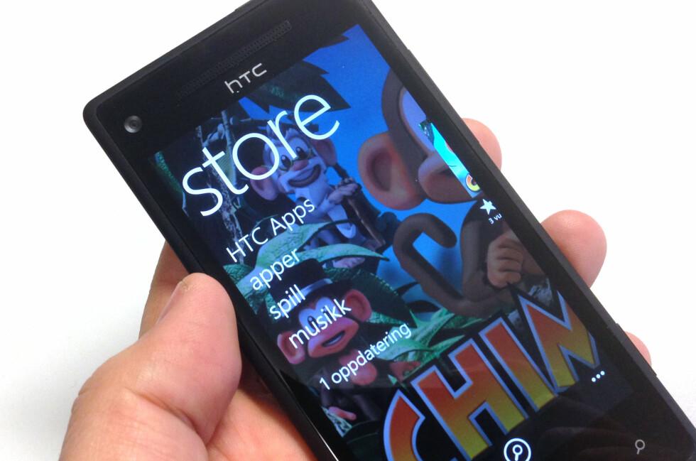 App-utvalget til Windows Phone blir stadig bedre.  Foto: Bjørn Eirik Loftås