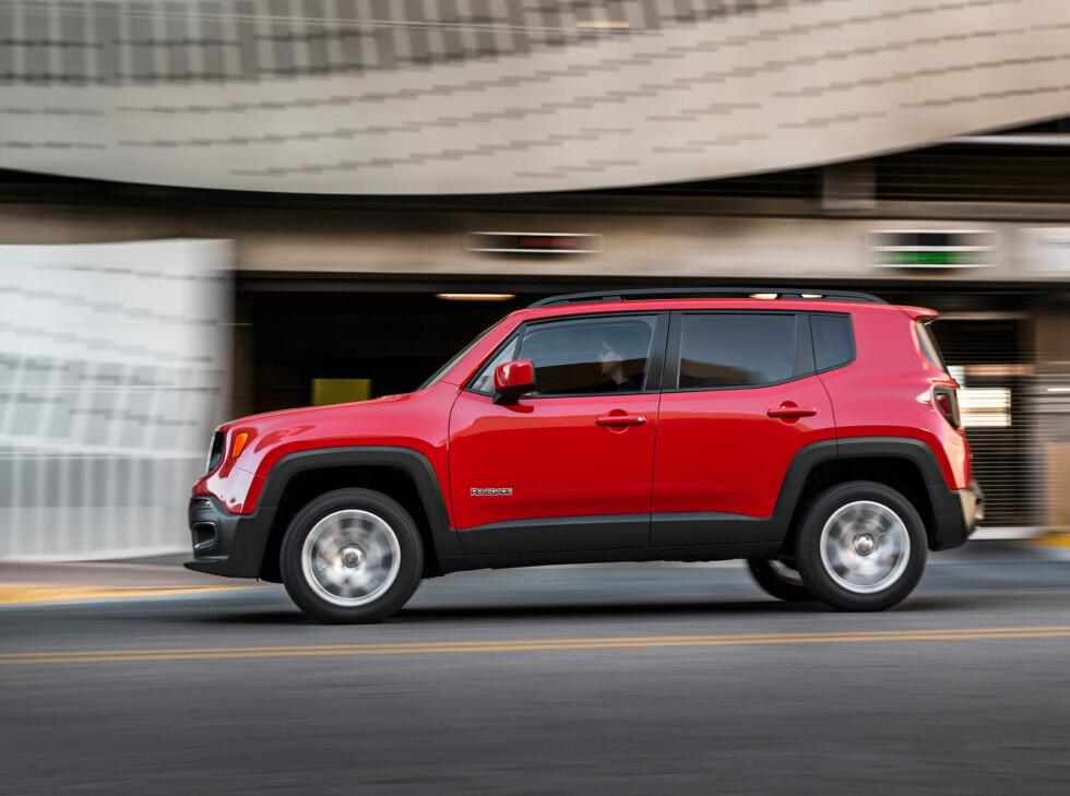 MINSTE JEEP TIL NÅ: Bilen er med sine 4,23 meter av de mer kompakte SUV på markedet.   Foto: Jeep