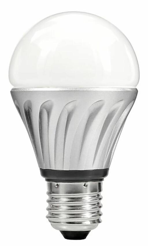 LED kommer også for standard 230 volts sokkel. Foto: Produsenten