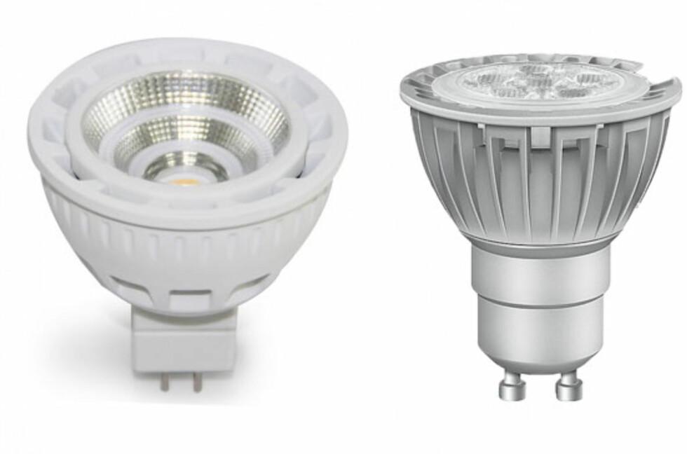 12 eller 230 volt LED - hva må du passe på? Foto: Produsentene