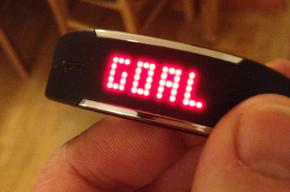 VI ER MÅL! I løpet av dagen kan du sjekke om du har nådd målet for nok aktivitet.  Foto: THOMAS STRZELECKI