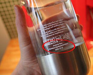 image: Burde du skifte ut flasken din?