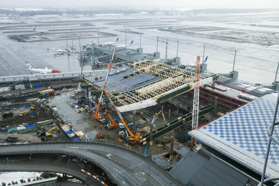 Den nye terminaldelen. Foto: PER ERVLAND