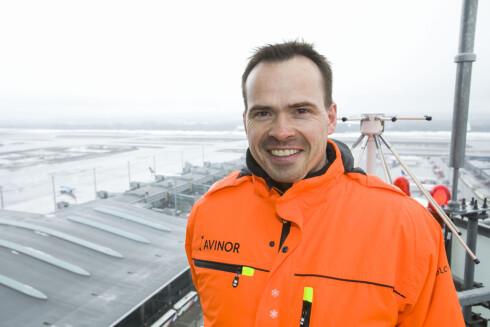Thorgeir Landevaag er direktør for driftskoordinering T2 ved Oslo Lufthavn AS.  Foto: PER ERVLAND