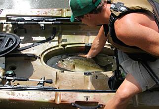 Allsidig fiskekajakk