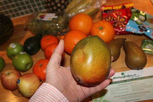 <strong><strong>FRUKT:</strong></strong> God frukt eller dårlig frukt, skattefritt kan det i alle fall være å få litt ekstra fiber på jobben. Foto: ELISABETH DALSEG